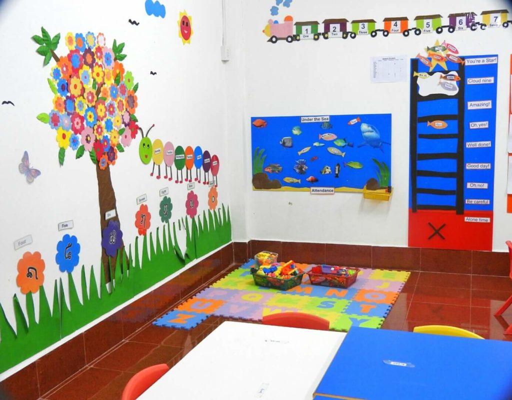 Kindergarten Classroom: Kindergarten 2 & 3 Teachers John And Nong In Their